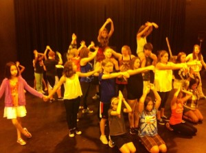 Rehearsals are going well for Seussical and the kids are having a blast!
