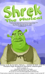 Don't miss ACT's fall mainstage production of Shrek the Musical!