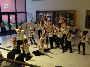 Shrek performers at Mid-Columbia Symphony