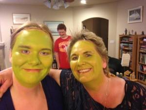 Going Green for Shrek!