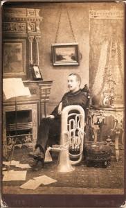 1890s New York Tuba Player