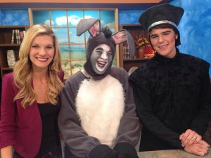 Donkey and the Bishop, Kyle Cox and Nathan Grant were interviewed on Good Morning Northwest!