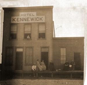 1890s Kennewick Hotel