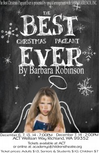 poster Best Chrismas pageant - almost final