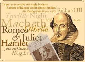 Actor's Workshop presents Shakespeare with local teaching artist Ellicia Elliot, 6-8p, Sunday Nov 3