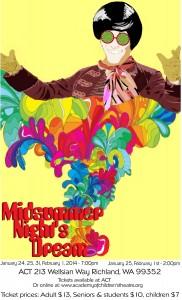 Poster Midsummer NIght's Dream draft