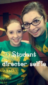 Sarah Ullmann and Yzabelle Tow were the awesome student directors!