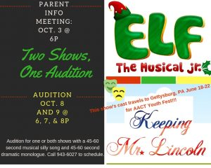 Two Shows,One Audition