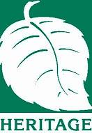 Copy of LOGO Heritage green leaf small size